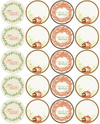 thanksgiving label printables worldlabel