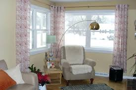 window treatment ideas for kitchen corner window curtain ideas indoor corner window curtain rod kitchen