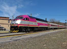 Commuter Rail by Realignment Of Massachusetts Turnpike To Include New Commuter Rail