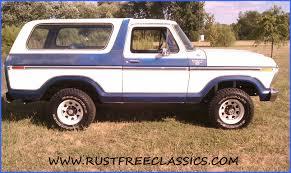 white bronco car 1978 bronco ranger xlt blue white white top 4x4 4 speed 78