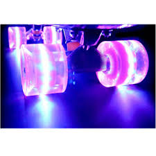 light up roller skate wheels 1set 4 pcs blank pro 60 x 45mm cuiser led light up wheels fits 22