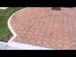 Painted Patio Pavers How To Stain Or Restore Faded Brick Pavers With New Paver Dye
