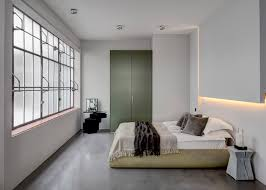 converted warehouse apartment in london goes heavy metal curbed