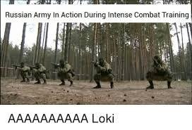 Russian Army Meme - russian army in action during intense combat training aaaaaaaaaa