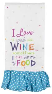 images about wine pinterest tea towels signs and wall love cook with wine kitchen towel only winelovers