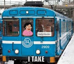 Family Guy Cleaning Lady Meme - a cleaning lady stole a train in stockholm and ran it into a