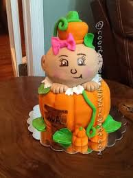 pumpkin baby shower cake baby shower cake cake design and cookies