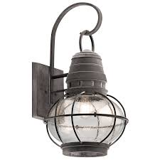 Vaxcel Nautical Lighting by Bridge Point Outdoor Extra Large Wall Lantern In Wzc