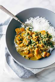 Thai Red Pumpkin Curry Recipe by Creamy Thai Sweet Potato Curry Recipe Pinch Of Yum