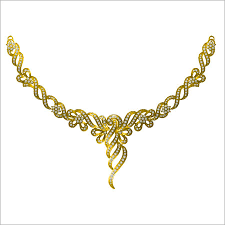 gold with diamond necklace images Gold diamond necklace gold diamond necklace exporter jpg