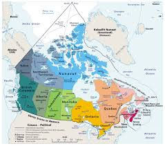 alaska major cities map large detailed political and administrative map of canada with