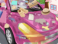 Game My New Room - clean my new pink car 3 games