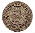 Clear image of Aztec Calendar