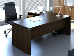 Computer Desk With Return Executive Desk With Return L Shaped Right Interque Co