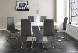 7 piece dining room table sets steve silver nevada 7 piece dining set with ergonomic breuer chairs