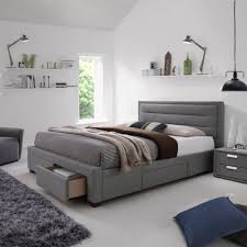 Grey Bed Frame The Vienna Grey Bedframe Provides Modern Design And Practical
