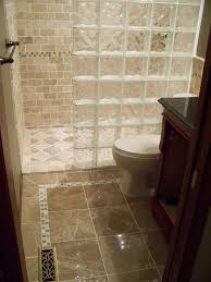 photos of glass block showers curbless and glass block