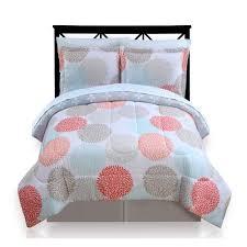 Dahlia Nursery Bedding Set Big One Dahlia Dot Reversible Bedding Set