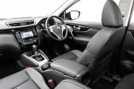 black nissan inside 2017 nissan qashqai review video