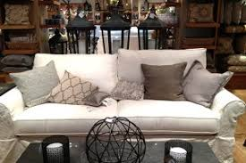 ikea slipcovered sofa ikea ektorp versus pottery barn grand sofa
