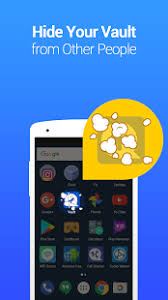 vault apk vault hide sms pics app lock cloud backup apk for