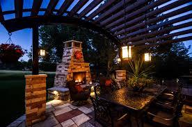 bella lux outdoor lights custom landscape lighting ideas outdoor fireplace lighting