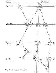 finding missing angles worksheet worksheets