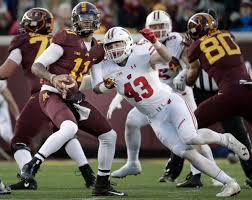 badgers football hits from wisconsin s win minnesota