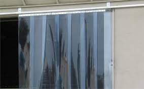 Curtains For Doors Slide Open Pvc Curtain Doors With Sliding Roller Track