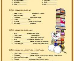 Countable And Uncountable Nouns Teaching And Uncountable Nouns Elementary Worksheet