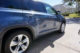 toyota car detailing 2014 toyota highlander express wax orlando mobile auto detailer