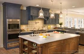 White And Blue Kitchen Cabinets Luxury Kitchen Design Ideas And Pictures
