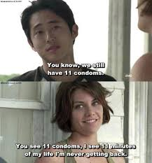 Maggie Meme - glenn and maggie at its best meme by deedleman22 memedroid