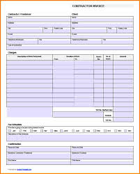 contractor invoices invoice sample pdf templates franklinfire co
