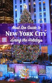 Christmas Tree Shopping Tips - must see guide to new york city during christmas and the holidays