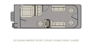 252 island breeze sport cruise landau boats