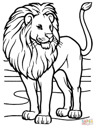 12 printable lion coloring pages print color craft