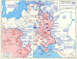 Map Of Europe Ww2 by Map Of German Advance On Moscow August December 1941