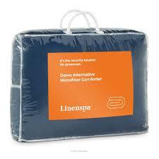 Home Design Down Alternative Color Full Queen Comforter Linenspa All Season Reversible Down Alternative Microfiber
