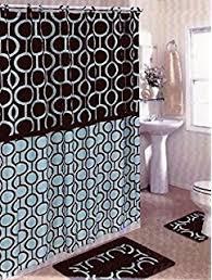 Brown And Blue Bathroom Rugs Brown Safari 15 Bathroom Set Animal Print Bath