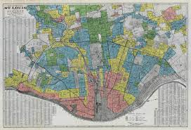 map st louis residential security map 1937 st louis patina