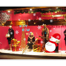 Christmas Window Glass Decorations by Home Christmas Window Lights Decorations Painting Ideas