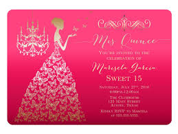 My Birthday Invitation Card Enchanting Quinceaneras Invitations Cards 88 For Your Hello Kitty
