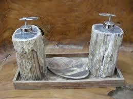 petrified wood bathroom accessories indogemstone unusual home