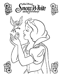 disney snow white cartoon coloring pages cartoon free