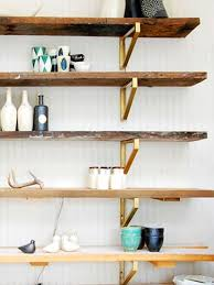 Wooden Shelf Brackets Diy by Summer Diy U0027s Wall Shelving Units Wood Shelf And Ikea Hack