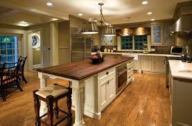 Traditional Decorating Artistic Chandelier Modern Farmhouse Kitchen Design View Of The