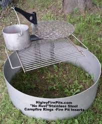 Higley Fire Pits by Custom Fire Pit Spark Screens Metal Fire Pit Ring Covers Bend