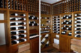 Burgundy Wine Cellar - coastal custom cellars builds wine cellar lompoc california