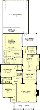 narrow cottage plans 1000 images about house plans on narrow lot house plans